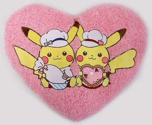 【中古】クッション・抱き枕・本体(キャラクター) ピカチュウ クッション Pikachu's Sweet Treats 「ポケットモンスター」 ポケモンセンター限定