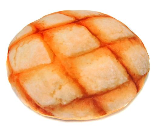 【中古】クッション・抱き枕・本体(キャラクター) メロンパン まるでパンみたいなもっちりどでかピロー