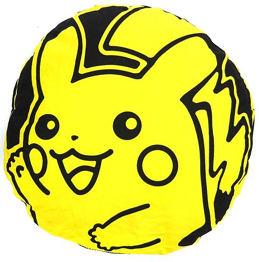 【中古】クッション・抱き枕・本体(キャラクター) [カード無し] ピカチュウコインのクッション 「ポケモンカードゲームくじ」 B賞