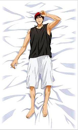 【中古】抱き枕カバー・シーツ(キャラクター) [破損品] 火神大我 おやすみシーツ 「黒子のバスケ」