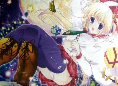 【中古】抱き枕カバー・シーツ(キャラクター) みけおうイラスト オリジナルブランケット E☆2 3rd Anniversary