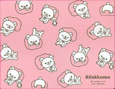 【中古】抱き枕カバー・シーツ(キャラクター) コリラックマ(ピンク) リラックマ・リラックマ 大判ブランケット 「リラックマ」