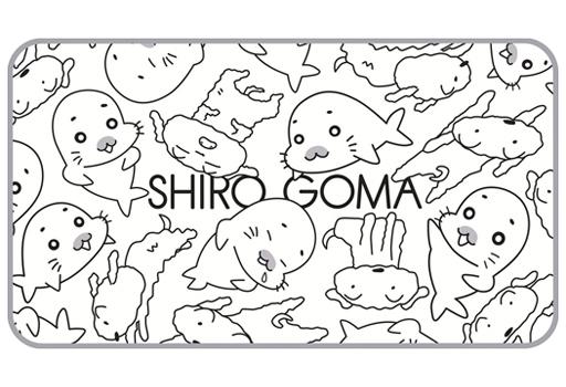 【中古】抱き枕カバー・シーツ(キャラクター) シロゴマ ブランケット 「少年アシベ×クレヨンしんちゃん」