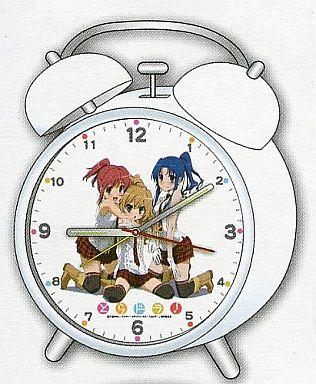 【中古】置き時計・壁掛け時計(キャラクター) とらドラ! 目覚まし時計(A:白)
