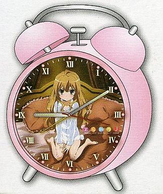 【中古】置き時計・壁掛け時計(キャラクター) とらドラ! 目覚まし時計(A:ピンク)