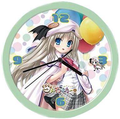 【中古】置き時計・壁掛け時計(キャラクター) クドわふたー 能美クドリャフカ 掛け時計 グリーンフレーム