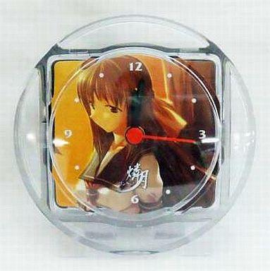 【中古】置き時計・壁掛け時計(キャラクター) 緋月鮎美 「燐月」 時計