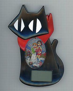 【中古】置き時計・壁掛け時計(キャラクター) 阪本さん置時計「日常」月刊少年エース2011年11月号付録