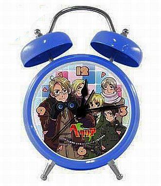 【中古】置き時計・壁掛け時計(キャラクター) B:連合国 音声入り目覚まし時計 「ヘタリア Axis Powers」
