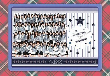 【中古】置き時計・壁掛け時計(女性) AKB48(シルバー衣装ver.) フォトクロックB