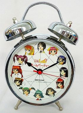 【中古】置き時計・壁掛け時計(キャラクター) 守護天使 目覚まし時計 「おとぎストーリー 天使のしっぽ ホームパーティ」
