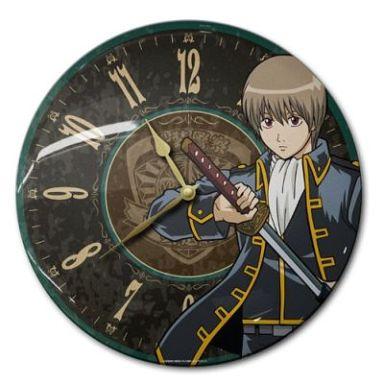 【中古】置き時計・壁掛け時計(キャラクター) 沖田総悟 ティンクロック 「銀魂」