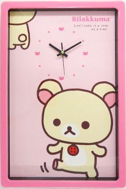 【中古】置き時計・壁掛け時計(キャラクター) コリラックマ リラックマ・リラックマ BIG壁掛け時計 「リラックマ」