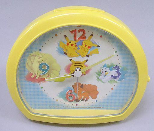 【中古】置き時計・壁掛け時計(キャラクター) ピカチュウのしっぽ 置き時計 「ポケットモンスター」 ポケモンセンター限定