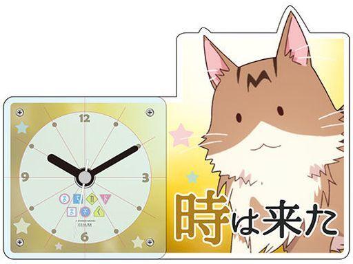 彩ing 新品 置き時計・壁掛け時計 メタ子 時は来た アクリルクロック 「まちカドまぞく」