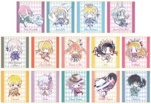 アルマビアンカ 新品 紙製品 【BOX】Fate/Grand Order Design produced by Sanrio トレーディング Ani-Art ミニ色紙