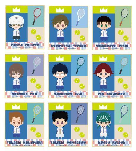 アルマビアンカ 新品 紙製品 【BOX】新テニスの王子様 トレーディング 青学 NordiQ ミニ色紙