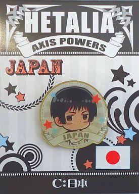 【中古】バッジ・ピンズ(キャラクター) C.日本 ピンズ 「ヘタリア Axis Powers」