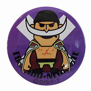【中古】バッジ・ピンズ(キャラクター) エドワード・ニューゲート 丸型缶バッチ 「ワンピース×パンソンワークス」