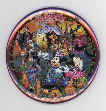 【中古】バッジ・ピンズ(キャラクター) 集合(魔女) 缶バッジ 「ディズニー・ハロウィーン2009」 東京ディズニーランド限定
