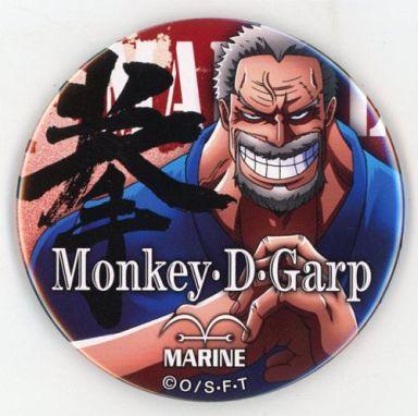 モンキー・D・ガープ(拳) 「ワンピース 輩~YAKARA~缶バッジBLUE」