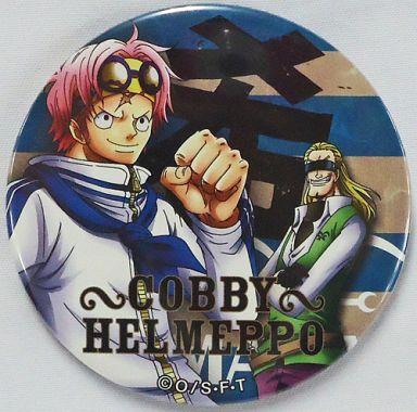 コビー&ヘルメッポ(希) 「ワンピース 輩~YAKARA~缶バッジBLUE」