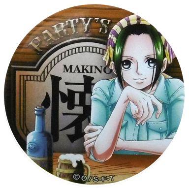 マキノ(懐) 「ワンピース 輩~YAKARA~缶バッジ PINK&GOLD」