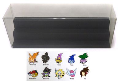 第1期人魂ピンズ・コレクション(10個セット)+特製ケース 「コミックス シャーマンキング 完全版 第1~9巻」 応募者全員サービスグッズ