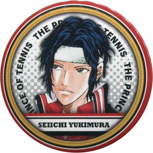 【中古】バッジ・ピンズ(キャラクター) 幸村精市 「新テニスの王子様 コレクション缶バッジ」 ジャンプショップ限定
