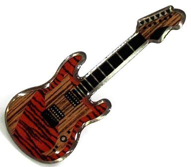 【中古】バッジ・ピンズ(男性) UVERworld 彰オリジナルギターピンバッチ 「オフィシャルファンクラブ Neo SOUND WAVE」 2012年度継続特典