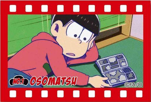 【中古】バッジ・ピンズ(キャラクター) A.おそ松 ブリキスクエア缶バッチ part2 「おそ松さん」