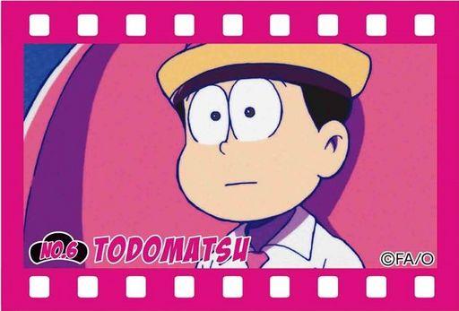 【中古】バッジ・ピンズ(キャラクター) F.トド松 ブリキスクエア缶バッチ part2 「おそ松さん」