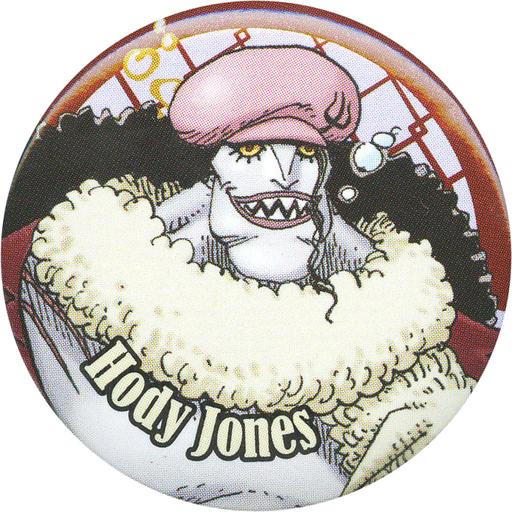 ホーディ・ジョーンズ 缶バッジ 「ワンピース」 夏のコミックスフェア ナツコミ2016配布品