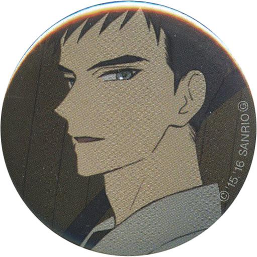 【中古】バッジ・ピンズ(キャラクター) 源誠一郎(左向き) 缶バッジ 「サンリオ男子 当たりつき缶バッジくじ」