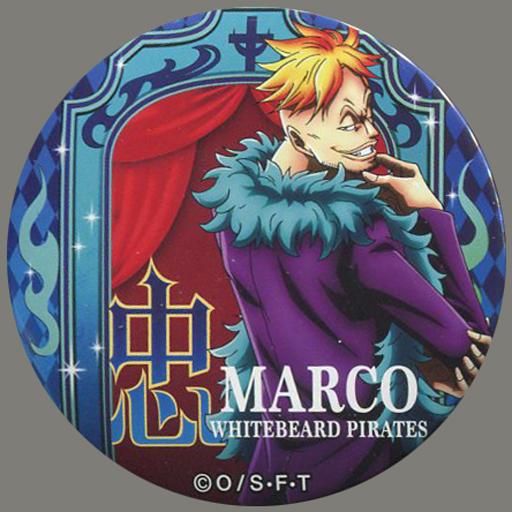 マルコ(忠) 「ワンピース 輩~YAKARA~缶バッジ 第9弾 PARTY」 麦わらストア限定