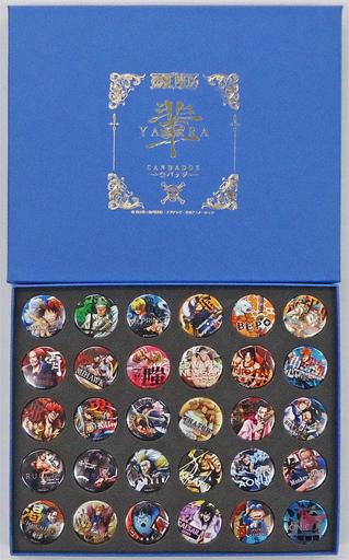 全30種セット 輩~YAKARA~缶バッジ コンプリートコレクション BLUE 「ワンピース」 麦わらストア限定
