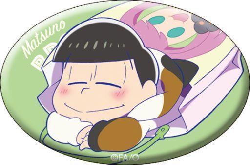 【中古】バッジ・ピンズ(キャラクター) チョロ松(袋) 「おそ松さん キャラバッジコレクション<ねこ>」