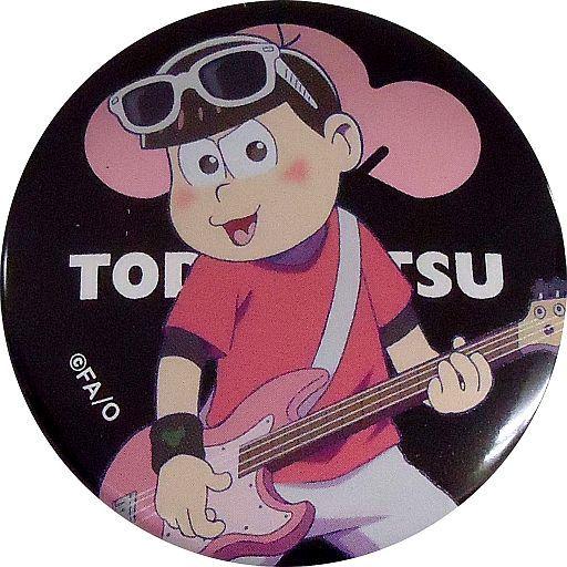 【中古】バッジ・ピンズ(キャラクター) 6.トド松(ギター) 「おそ松さん キャラバッジコレクション バンド」