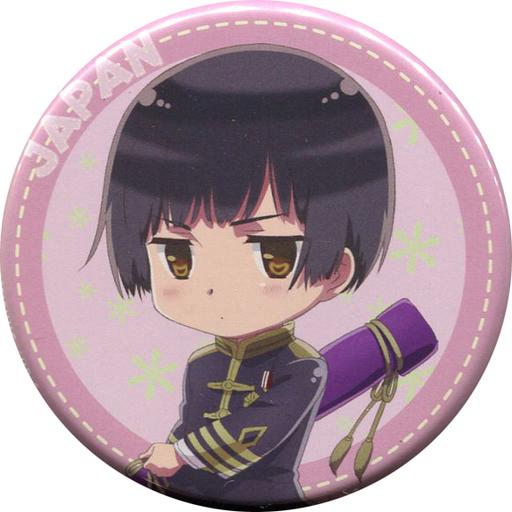 【中古】バッジ・ピンズ(キャラクター) 日本 「ヘタリア The World Twinkle トレーディング缶バッジ」