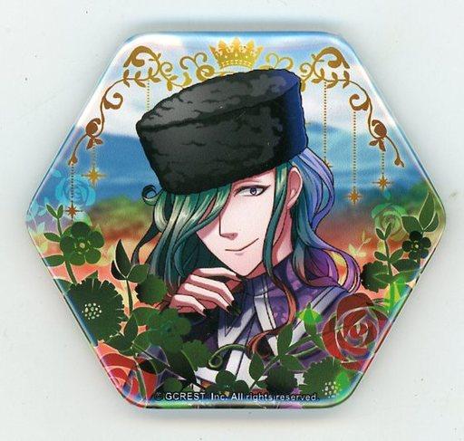 【中古】バッジ・ピンズ(キャラクター) ネペンテス 「夢王国と眠れる100人の王子様 国別トレーディング缶バッジB」