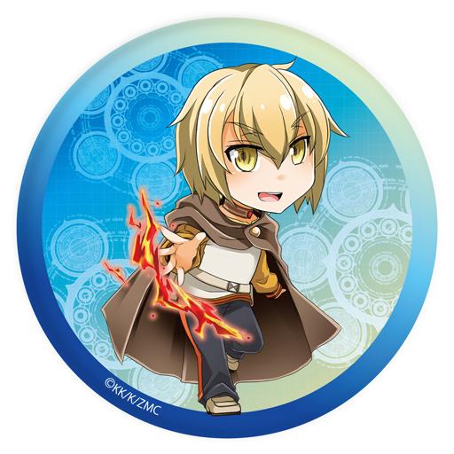 【中古】バッジ・ピンズ(キャラクター) 02.アルバス 缶バッジ 「ゼロから始める魔法の書」