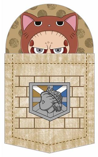 【中古】バッジ・ピンズ(キャラクター) 超大型巨人 にゃんてぃかる ポケットの中シリーズ(バッジ) 「進撃の巨人」
