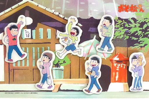 【中古】バッジ・ピンズ(キャラクター) 六つ子 ピンバッチ6種セット 「おそ松さん かくれエピソードドラマCD 松野家のなんでもない感じ」 アニメイト全巻購入特典