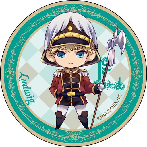 【中古】バッジ・ピンズ(キャラクター) ルードヴィヒ 「王室教師ハイネ 缶バッジ」