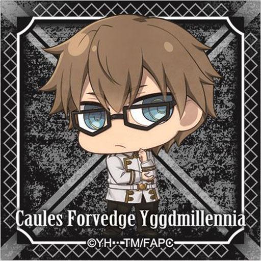 カウレス・フォルヴェッジ・ユグドミレニア 「Fate/Apocrypha トレーディングスクエア缶バッジ 黒の陣営」