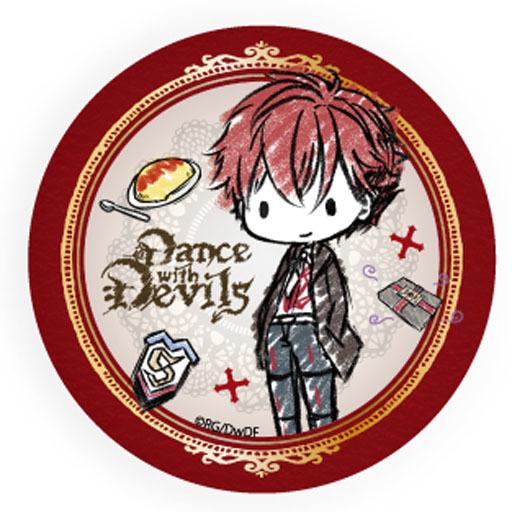 【中古】バッジ・ピンズ(キャラクター) 立華リンド 「Dance with Devils グラフアートデザイン 缶バッジ」