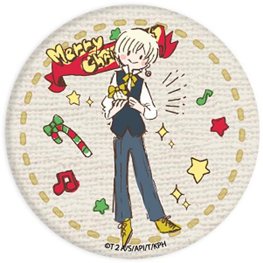 如月ルヰ 「KING OF PRISM -PRIDE the HERO- 缶バッジ グラフアート クリスマスver.」