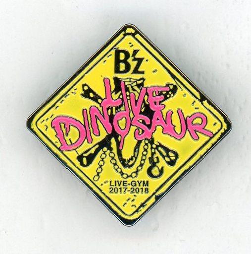 """【中古】バッジ・ピンズ(男性) B'z チャリティーピンバッジ 「B'z LIVE-GYM 2017-2018 """"LIVE DINOSAUR""""」"""