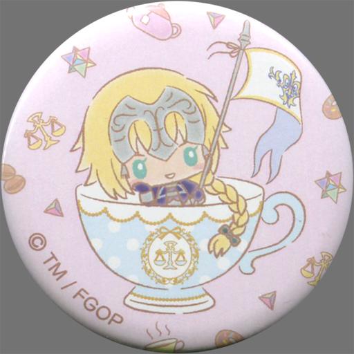 【中古】バッジ・ピンズ(キャラクター) ルーラー/ジャンヌ・ダルク 「Fate/Grand Order×サンリオカフェ 缶バッジ」