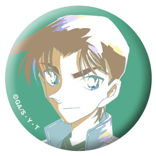 【中古】バッジ・ピンズ(キャラクター) 服部平次 「名探偵コナン トレーディングAni-Art缶バッジ」